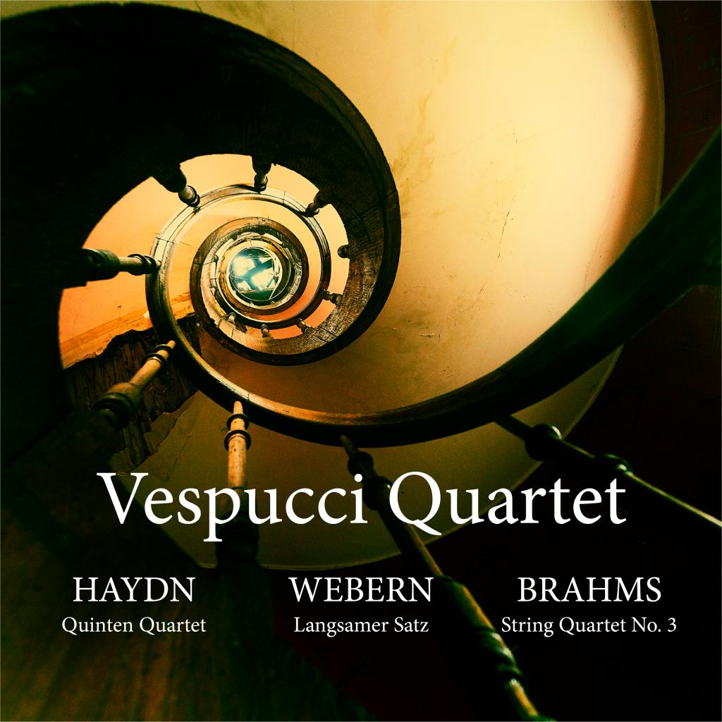 Vespucci Quartet- Voorkant cd Baby